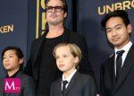 Brad Pitt vuelve a ver a sus hijos tras dos semanas difíciles