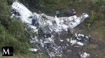 Avión del Chapecoense de Brasil se estrelló en Colombia
