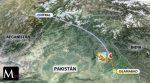 En Pakistán, un avión se estrelló con 47 personas a bordo