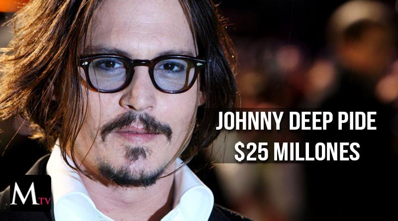Johnny Depp demanda a ex representantes por millones de dólares