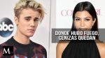 Kourtney Kardashian y Justin Bieber sostienen un encuentro