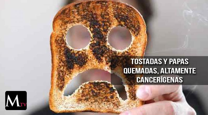 Revelan el peligro oculto de comer papas y tostadas quemadas