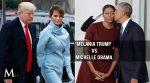 Estilos de Michelle Obama vs. Estilos de Melania Trump