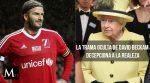 El escándalo de David Beckham que avergüenza a la realeza británica
