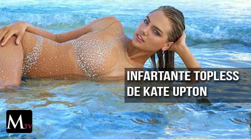 El triple topless de Kate Upton
