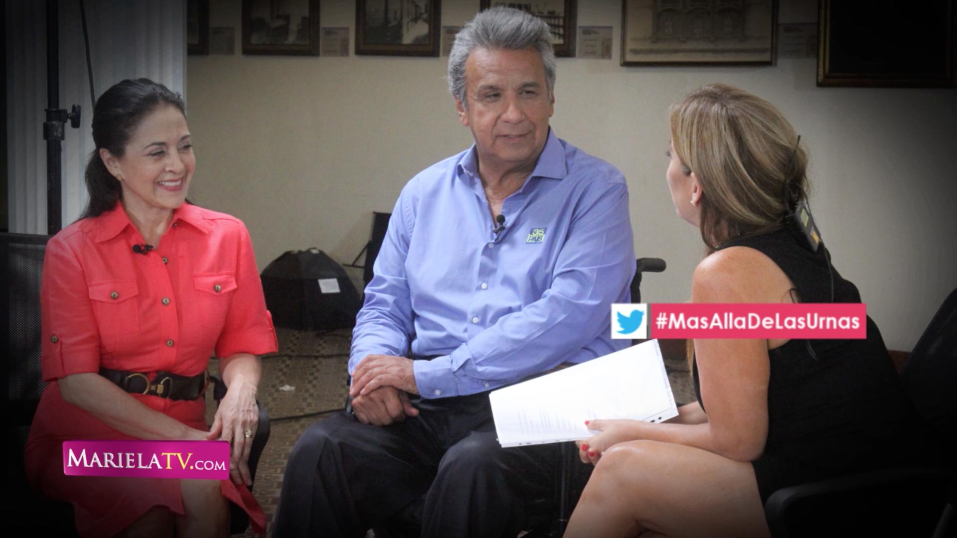 Más allá de las urnas – Lenín Moreno y esposa