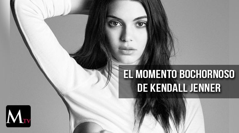 El momento más bochornoso de Kendall Jenner