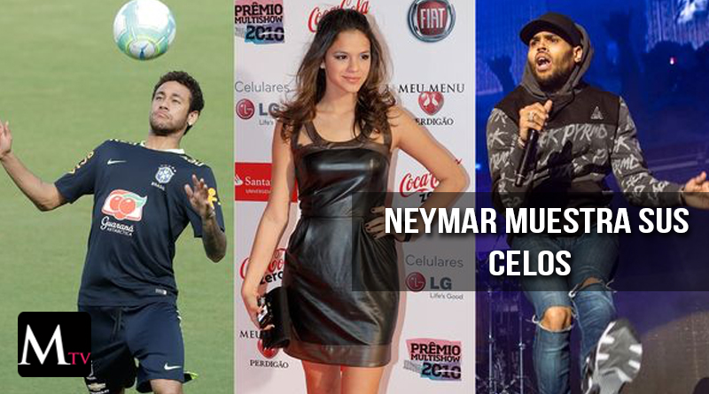 Chris Brown en disputa por la novia de Neymar