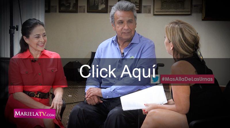Lenín Moreno y su esposa, Revista Mariela Edición 110