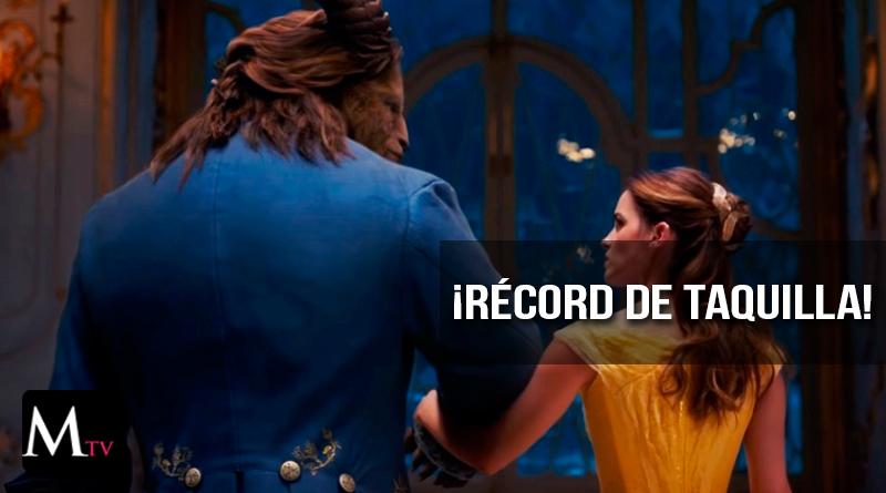 """""""La Bella y la Bestia"""" rompe récord en taquilla"""