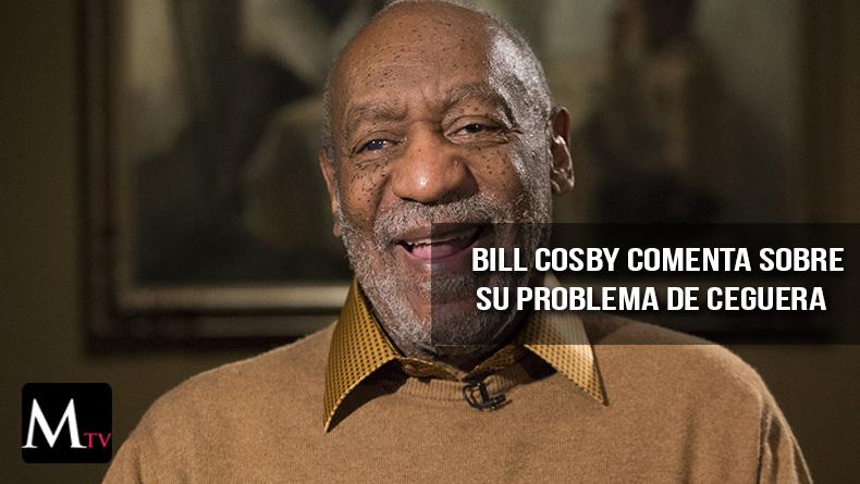 Bill Cosby habla de su cegera y el regreso a los escenarios