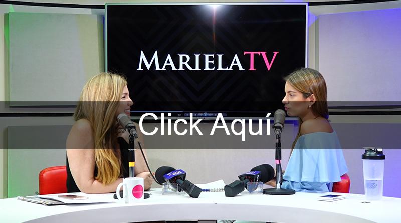 Mariela en Cabina Gabriela Viteri