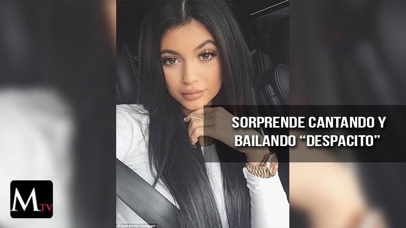 """Kylie Jenner cantó el tema de """"Despacito"""" en snapchat"""