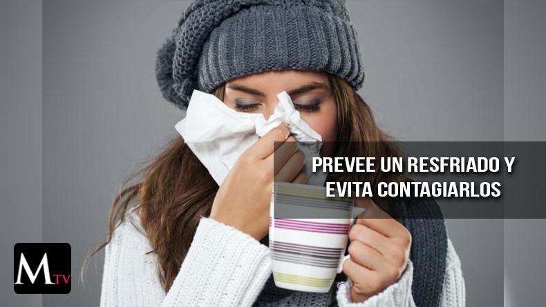 13 tips para evitar el resfriado y no contagiar a los demás