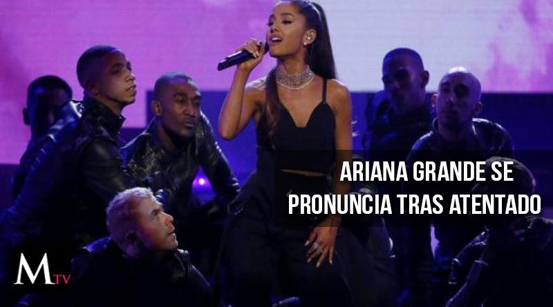 Ariana Grande tuvo un gran gesto con las víctimas de Manchester
