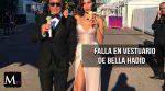 Bella Hadid sufre un desperfecto en su vestuario, dejando ver algo más