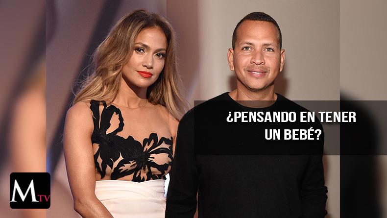 Jennifer Lopez y Alex Rodriguez ¿En planes de tener un bebé?