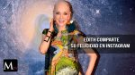 Edith González  feliz de haber superado el cáncer