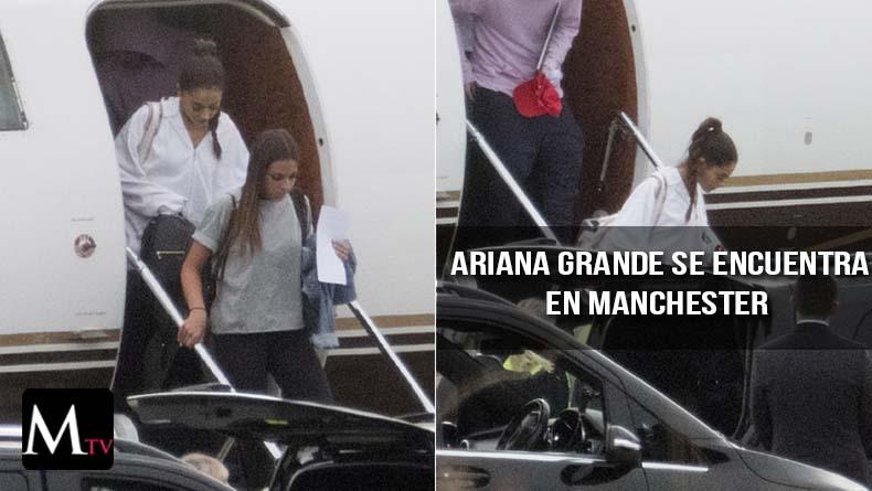 Ariana Grande ya ha aterrizado en Londres para su concierto