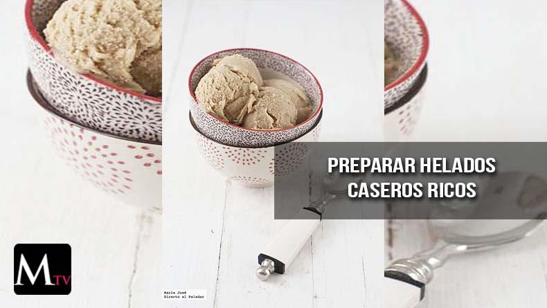 Preparar helado casero