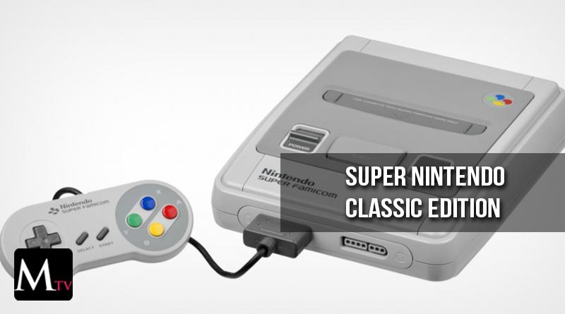 Nintendo anunció el lanzamiento de la Super Nintendo Classic Edition