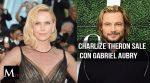 Charlize Theron sale con el ex de Halle Berry, Gabriel Aubry