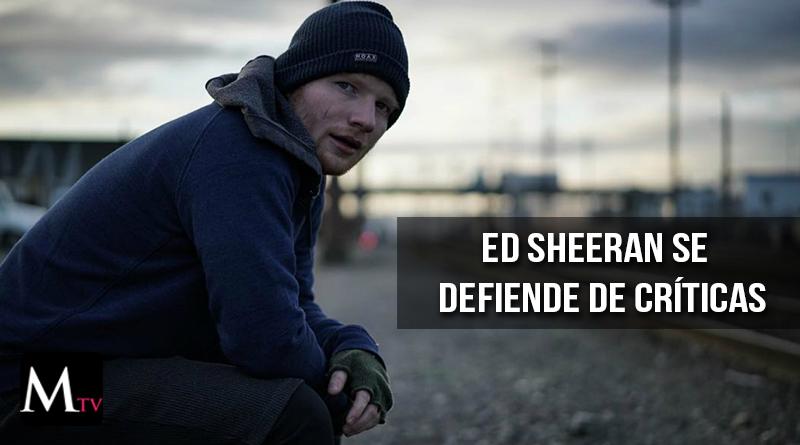 Ed Sheeran se defiende de fuertes acusaciones